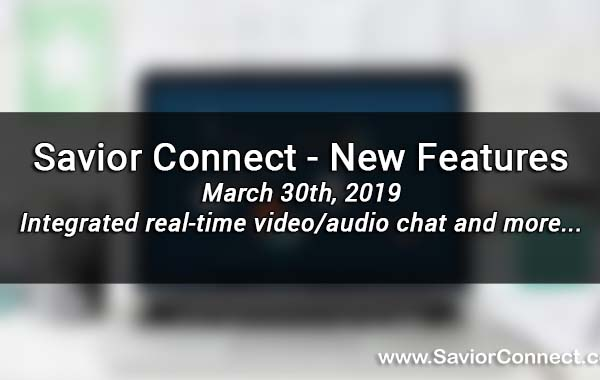 March 30th, 2019 - New Features