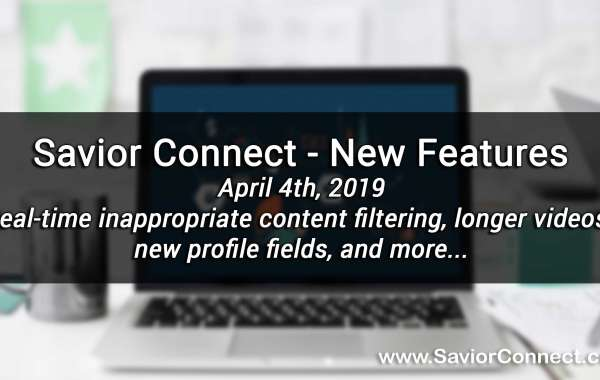 April 4th, 2019 - New Features