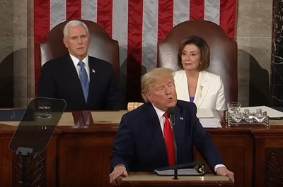 Trump issues strong defense of religious liberty, unborn in State of the Union address