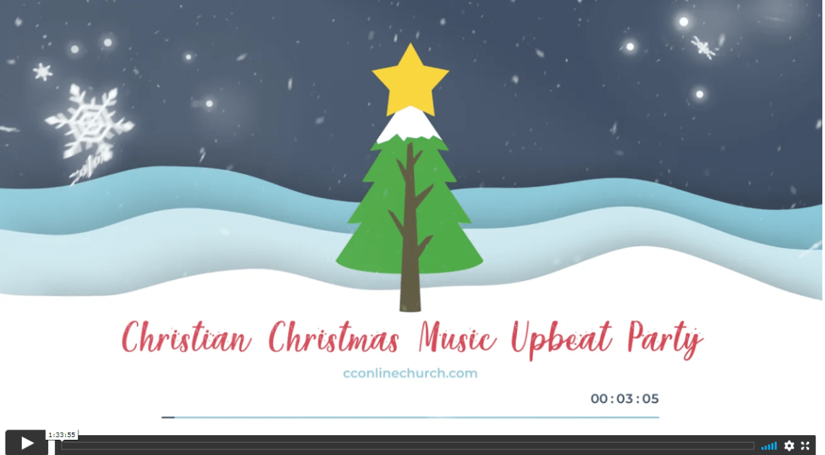 Christian Holiday Songs Christmas Music Upbeat Party | Best Top Faith Religious Christmas Songs Christian Contemporary Online Church | CCOC Online Church Services.