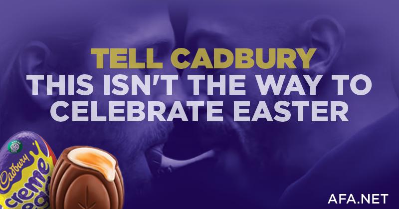 AFA.net - Cadbury Crème Egg ad causes Easter backlash