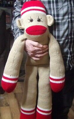 Bulky Knitting Machine Pattern: Humphrey J. Monkey  | eBay